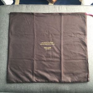 Large Kate Spade dust bag for crossbody or satchel